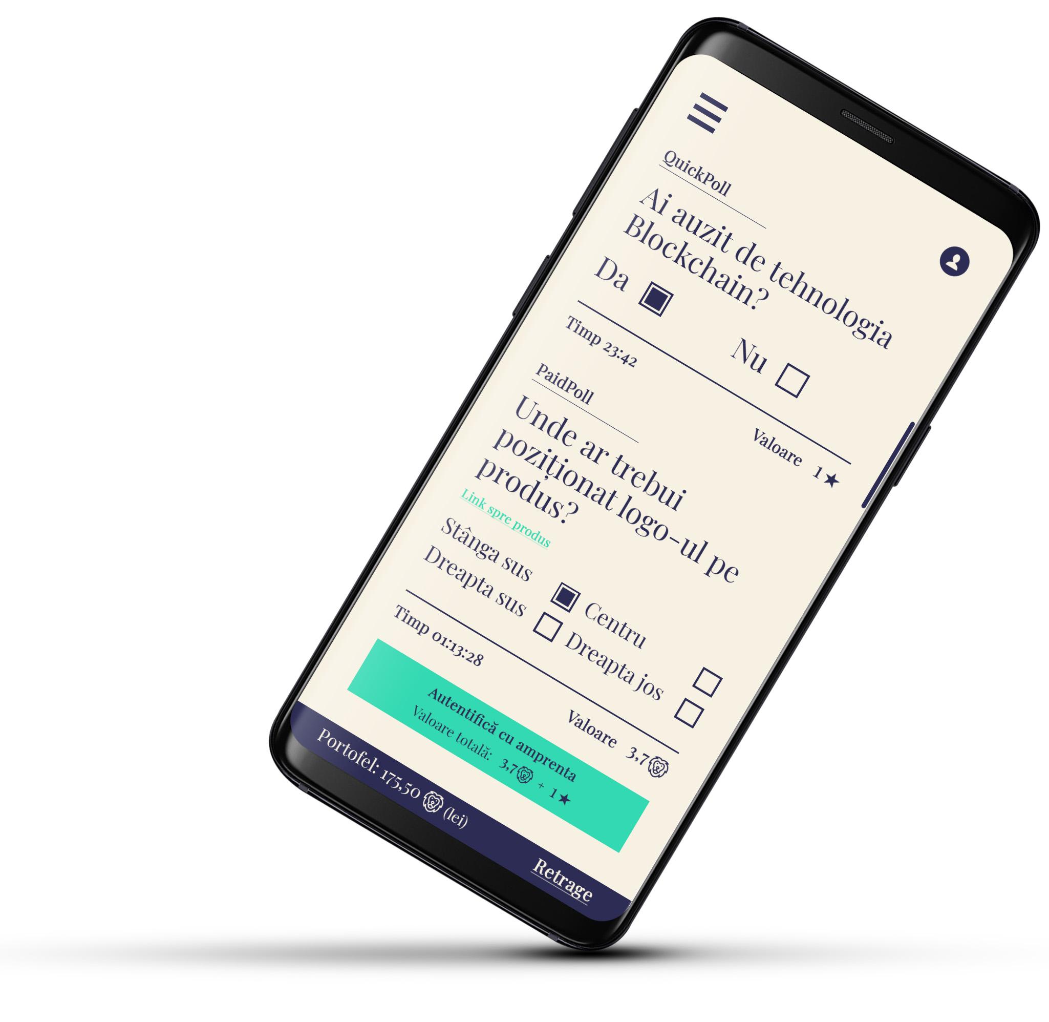 BlockPoll, aplicația gratuită care îți aduce bani